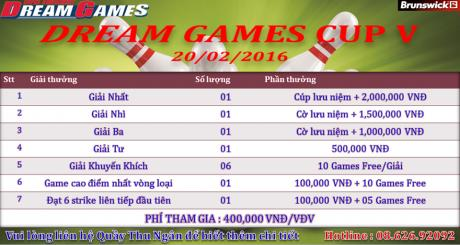 DREAM GAME CUP 2016