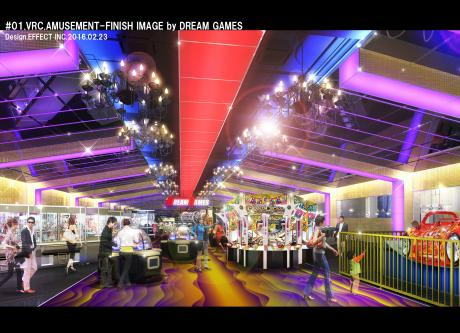 The first franchise amusement center will open in Vinh City.