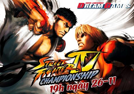 STREET FIGHTER IV CHAMPOINSHIP